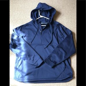 XL Under Armour Quarter Zip Hoodie